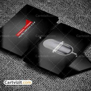 کارت ویزیت ضبط موسیقی
